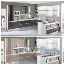 Πλήρης σύνθεση κουζίνας P0-210