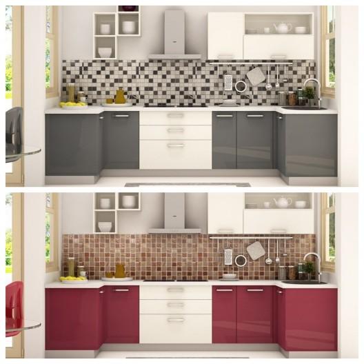 Πλήρης σύνθεση κουζίνας PO-218
