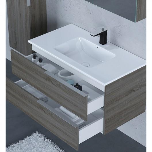 Σετ  επίπλου μπάνιου  βάση + νιπτήρας mirka BC-130
