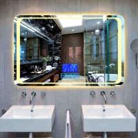 Καθρέπτης μπάνιου Led με - οθόνη αφής – αντιθαμβωτικός – ρολόι - θερμοκρασία