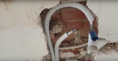 ανακαίνιση στα υδραυλικά