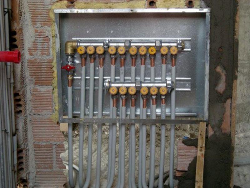 κολεκτερ στην αντλία θερμότητας