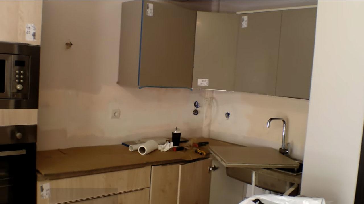 Aνακαινιση κουζινας